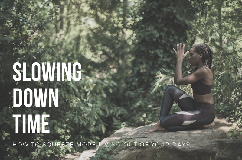 slowing down time - blog with Katie Wong