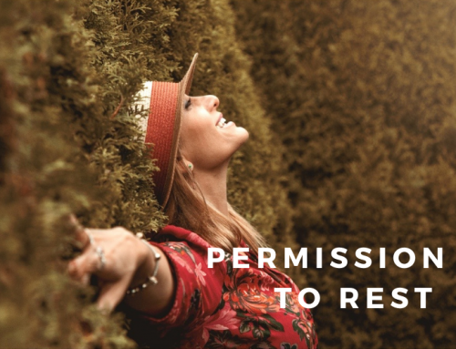 permission to rest